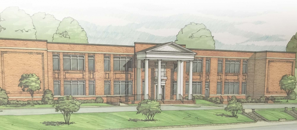 A sketch of Greenville Seminary